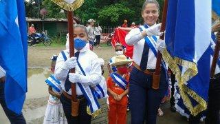 Le mois patriotique au Nicaragua