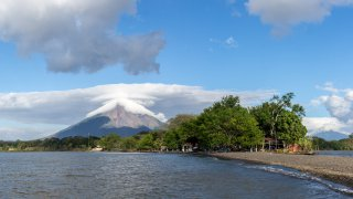illustration region les volcans d'Ometepe / zone Lac Nicaragua
