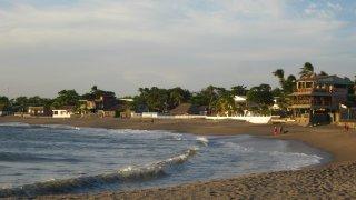 Illustration région Les plages de León / zone cote pacifique