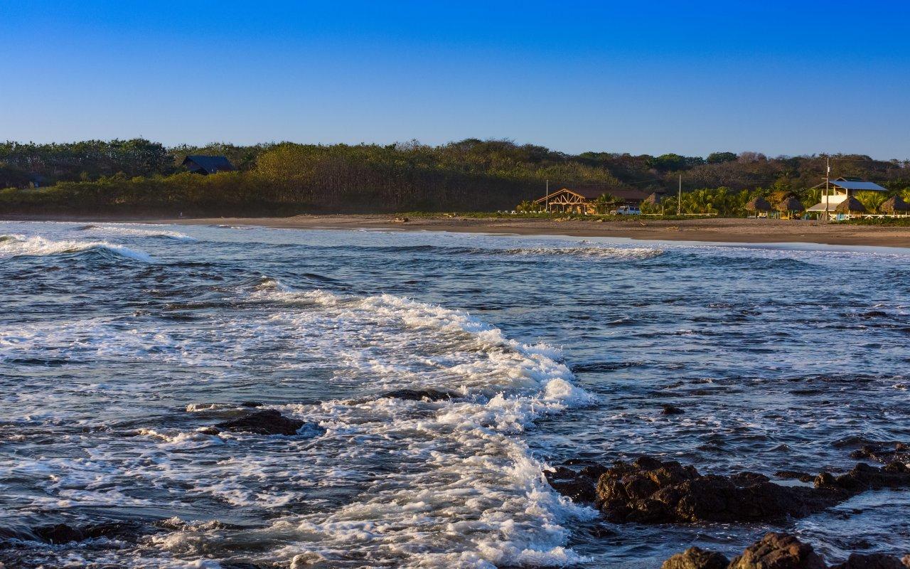 Bannière plages de léon / zone cote pacifique