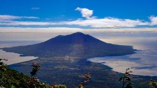 illustration région les volcans d'Ometepe / zone lac nicaragua