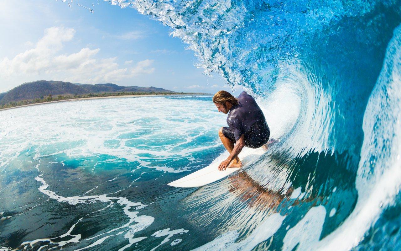 Bannière region surfer au Nicaragua / zone pacifique