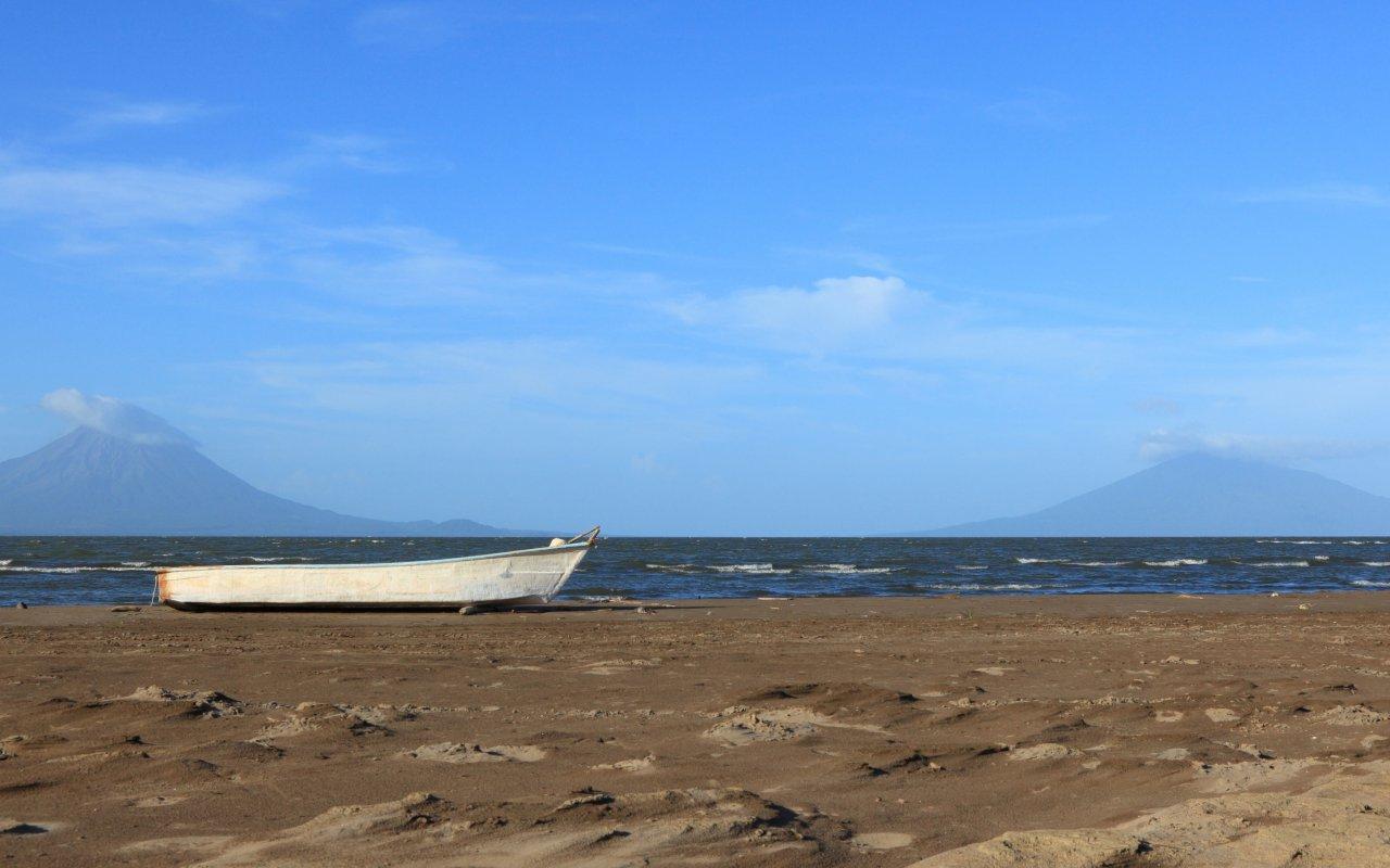Banière region les volcans d'Ometepe / zone Lac Nicaragua