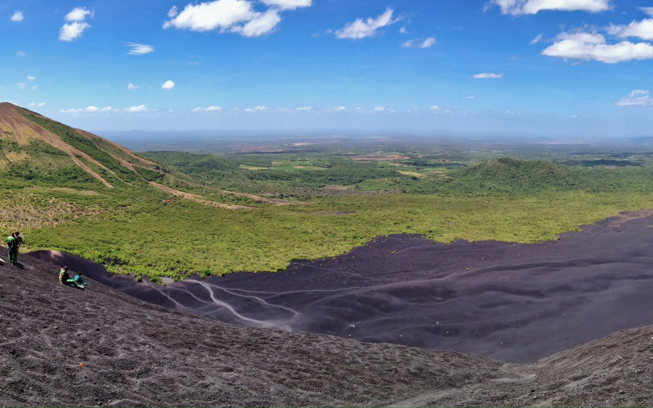 bannière région les volcans de Leon / zone Leon et le nord-ouest