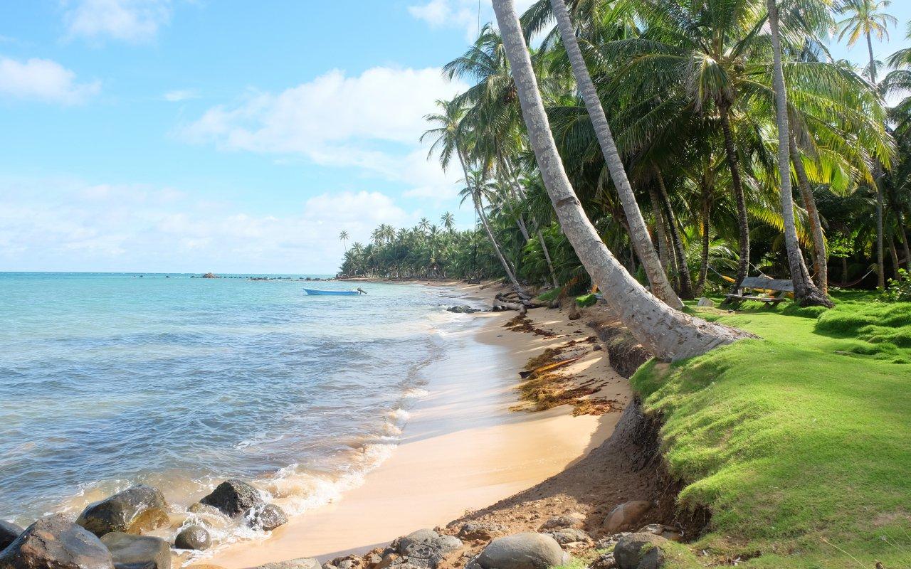Illustration région Corn Island / zone Caraibes