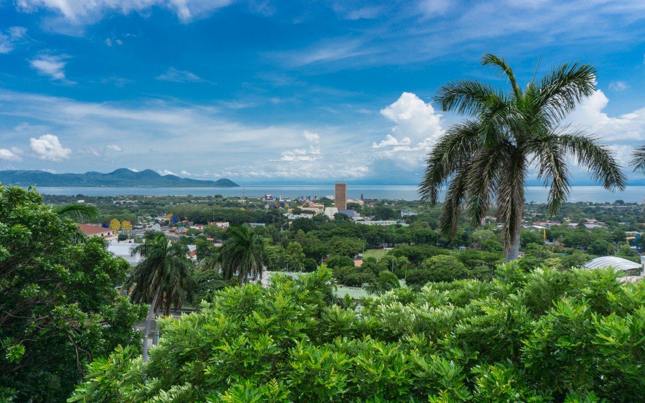 illustration région Managua / zone la région de Managua et du centre