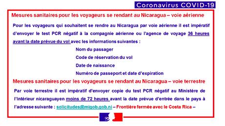 Mesures Covid 19 au 22-09-2020