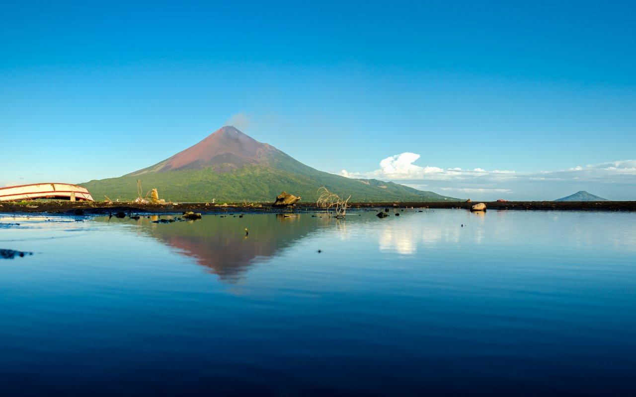 illustration régions les volcans de Leon