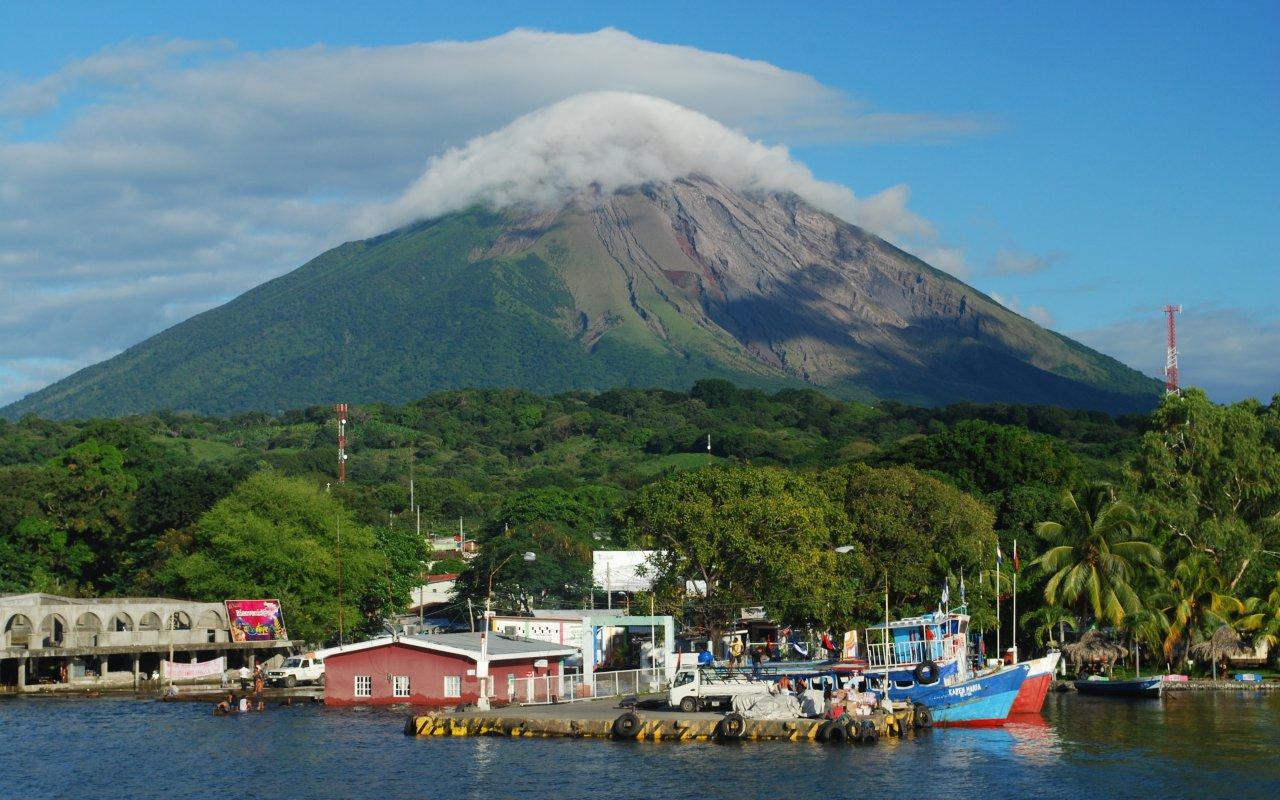 Illustration region Ometepe / zone Lac Nicaragua
