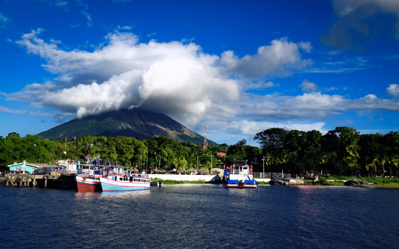 Bannière region Ometepe / zone Lac Nicaragua
