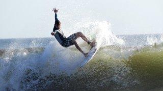 Illustration regions surfer au Nicaragua - surf