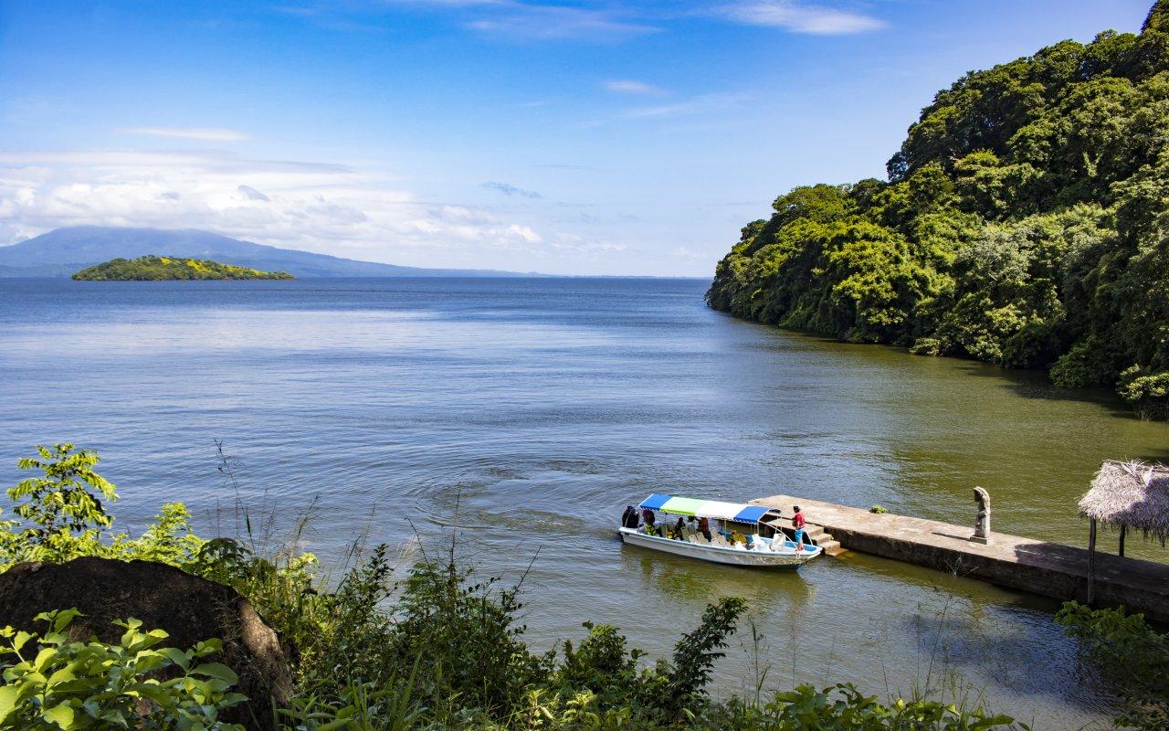 illustration region Zapatera / zone Lac Nicaragua
